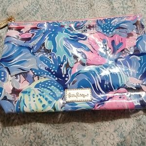 Large Lily Pulitzer Makeup Bag